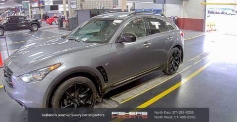 2016 Infiniti QX70 for sale at Fishers Imports in Fishers IN