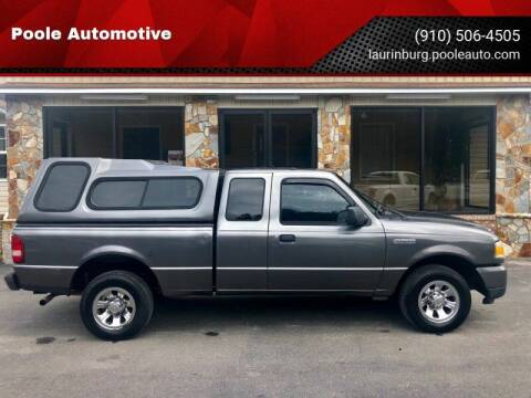 2008 Ford Ranger for sale at Poole Automotive in Laurinburg NC
