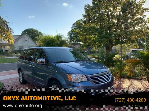 2011 Chrysler Town and Country for sale at ONYX AUTOMOTIVE, LLC in Largo FL