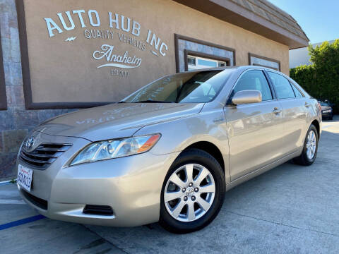 2008 Toyota Camry Hybrid for sale at Auto Hub, Inc. in Anaheim CA