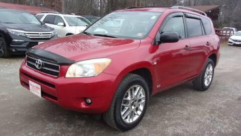 2008 Toyota RAV4 for sale at Select Cars Of Thornburg in Fredericksburg VA