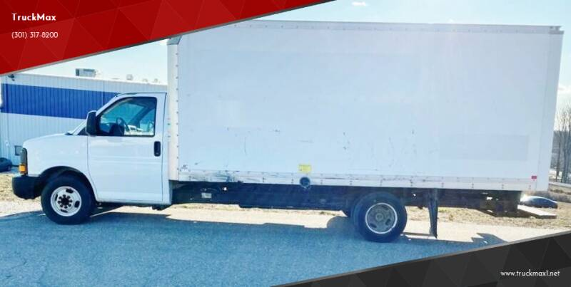 2012 GMC Savana Cutaway for sale at TruckMax in N. Laurel MD