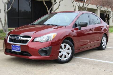 2012 Subaru Impreza for sale at DFW Universal Auto in Dallas TX