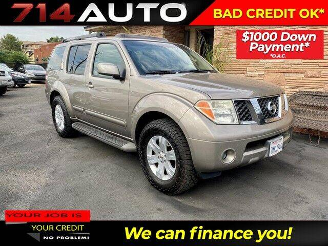 2007 Nissan Pathfinder for sale at 714 Auto in Orange CA