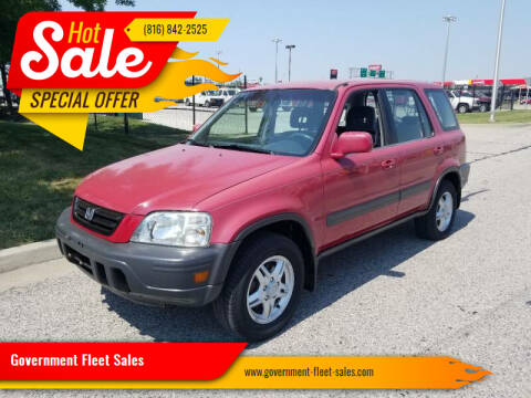 1998 Honda CR-V for sale at Government Fleet Sales in Kansas City MO