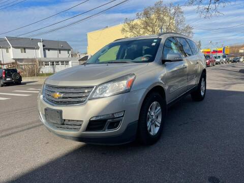 2013 Chevrolet Traverse for sale at Kapos Auto, Inc. in Ridgewood, Queens NY