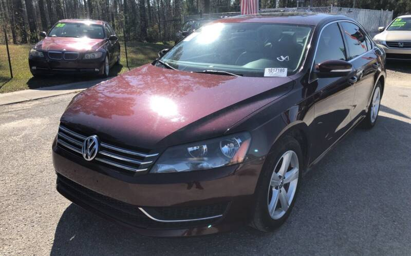 2013 Volkswagen Passat for sale at County Line Car Sales Inc. in Delco NC