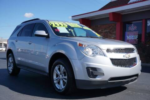 2010 Chevrolet Equinox for sale at Premium Motors in Louisville KY