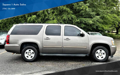 2012 Chevrolet Suburban for sale at Square 1 Auto Sales - Commerce in Commerce GA