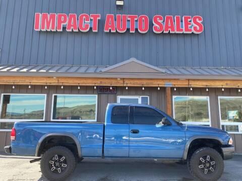 2002 Dodge Dakota for sale at Impact Auto Sales in Wenatchee WA