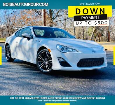 2013 Scion FR-S for sale at Boise Auto Group in Boise ID