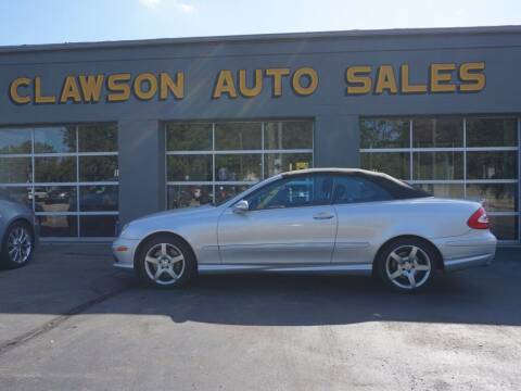 2005 Mercedes-Benz CLK for sale at Clawson Auto Sales in Clawson MI