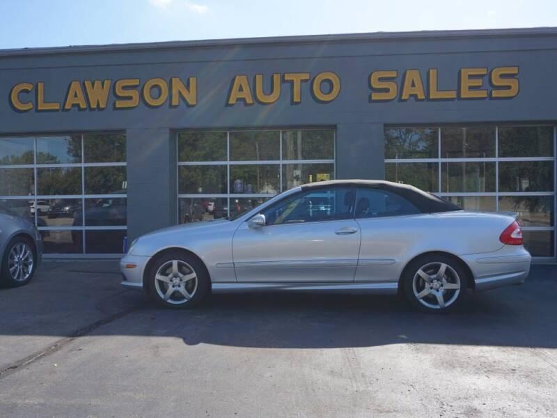 2005 Mercedes-Benz CLK for sale at Clawson Auto Sales in Clawson MI