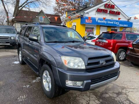 2004 Toyota 4Runner for sale at C & M Auto Sales in Detroit MI