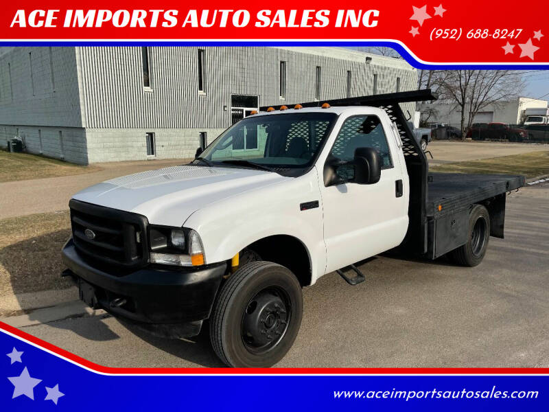 2004 Ford F-450 Super Duty for sale at ACE IMPORTS AUTO SALES INC in Hopkins MN