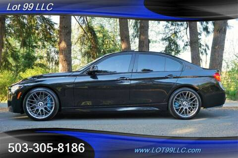 2016 BMW 3 Series for sale at LOT 99 LLC in Milwaukie OR