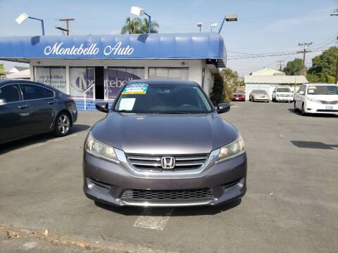 2014 Honda Accord for sale at Montebello Auto Sales in Montebello CA