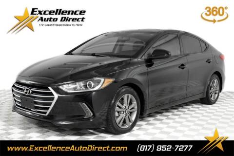 2018 Hyundai Elantra for sale at Excellence Auto Direct in Euless TX