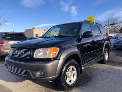 2004 Toyota Sequoia for sale at Crestwood Auto Center in Richmond VA