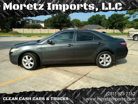 2007 Toyota Camry for sale at Moretz Imports, LLC in Spring TX