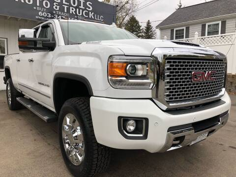 2017 GMC Sierra 2500HD for sale at Langlois Auto and Truck LLC in Kingston NH