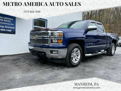 2014 Chevrolet Silverado 1500 for sale at METRO AMERICA AUTO SALES of Manheim in Manheim PA