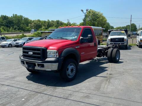 2007 Ford F-550 Super Duty for sale at KAP Auto Sales in Morrisville PA