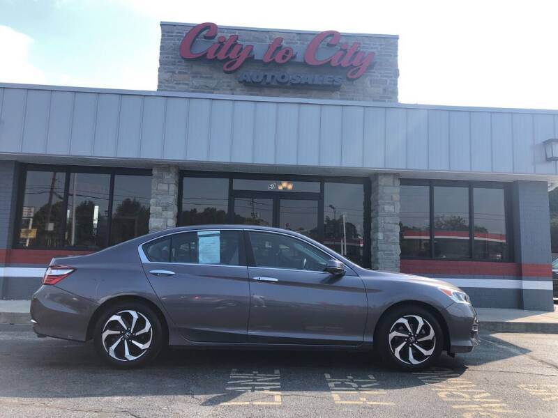 2016 Honda Accord for sale at City to City Auto Sales in Richmond VA