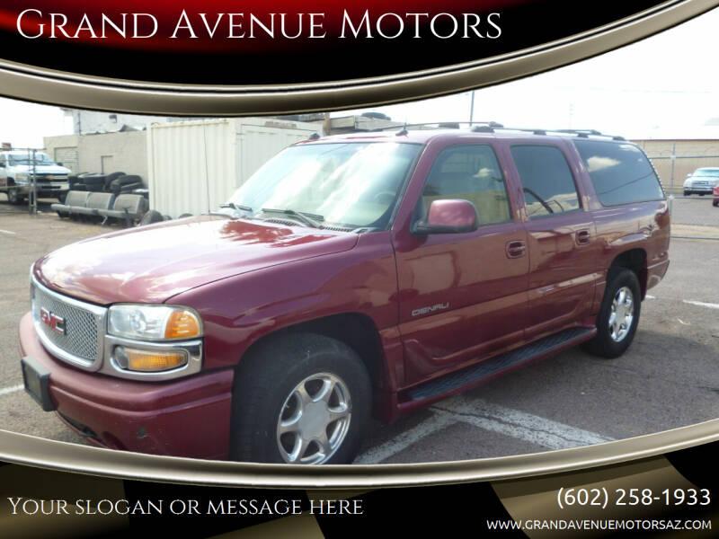 2005 GMC Yukon XL for sale at Grand Avenue Motors in Phoenix AZ