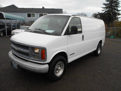 2002 Chevrolet Express Cargo for sale at Family Auto Network in Portland OR