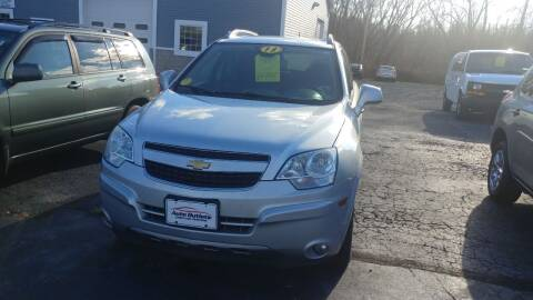 2013 Chevrolet Captiva Sport for sale at Pool Auto Sales Inc in Spencerport NY