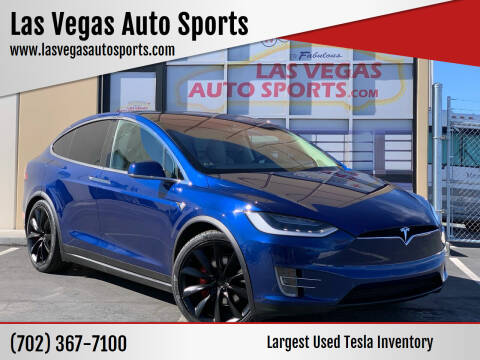 2017 Tesla Model X for sale at Las Vegas Auto Sports in Las Vegas NV