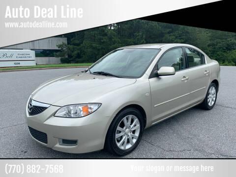 2008 Mazda MAZDA3 for sale at Auto Deal Line in Alpharetta GA