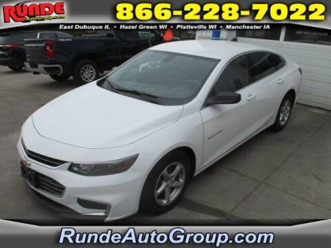 2016 Chevrolet Malibu for sale at Runde Chevrolet in East Dubuque IL