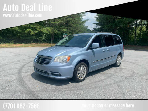 2013 Chrysler Town and Country for sale at Auto Deal Line in Alpharetta GA