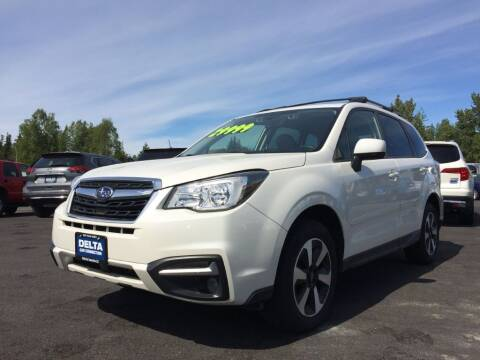 2017 Subaru Forester for sale at Delta Car Connection LLC in Anchorage AK