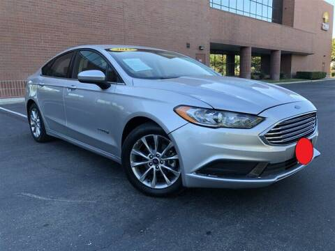 2017 Ford Fusion Hybrid for sale at Stunning Auto in Sacramento CA