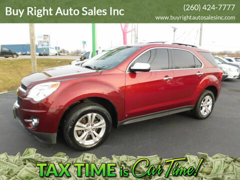 2010 Chevrolet Equinox for sale at Buy Right Auto Sales Inc in Fort Wayne IN