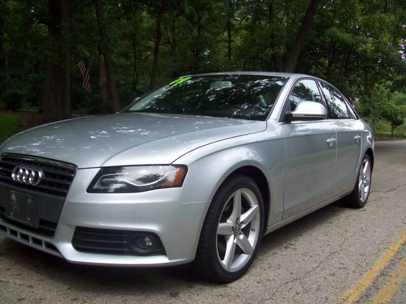 2009 Audi A4 for sale at Edgewater of Mundelein Inc in Wauconda IL
