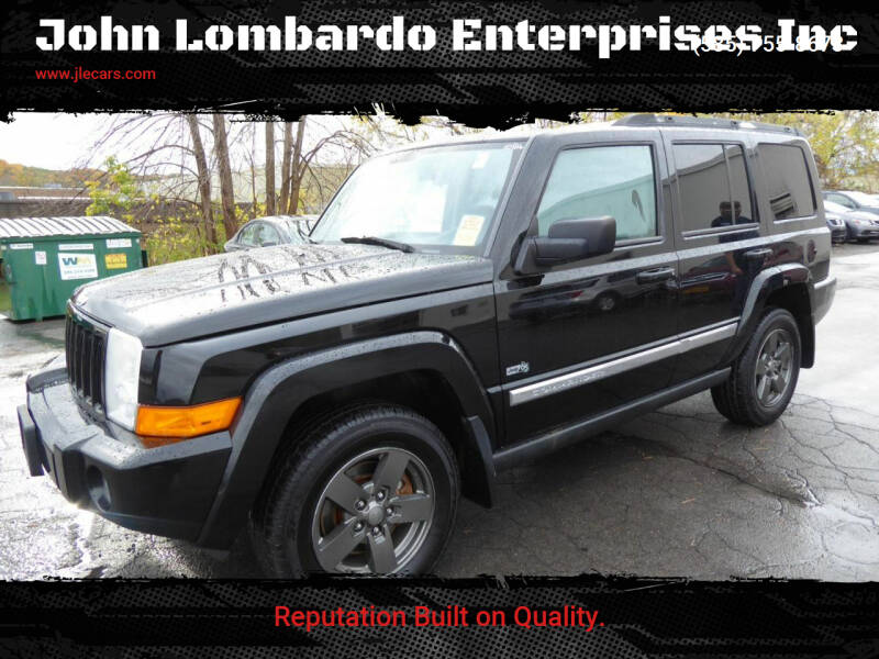 2006 Jeep Commander for sale at John Lombardo Enterprises Inc in Rochester NY
