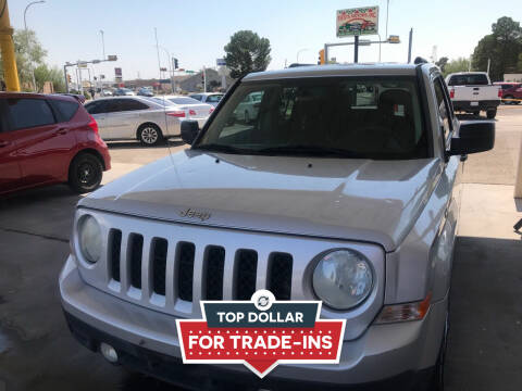 2011 Jeep Patriot for sale at Fiesta Motors Inc in Las Cruces NM