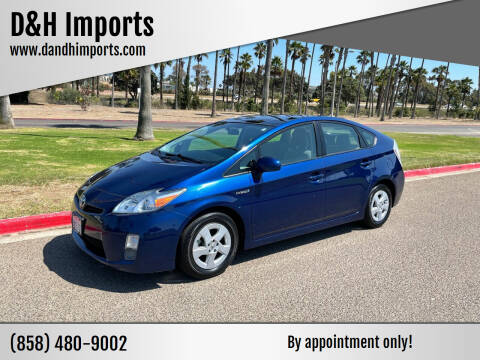 2010 Toyota Prius for sale at D&H Imports in San Diego CA