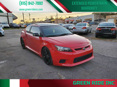2013 Scion tC for sale at Green Ride Inc in Nashville TN