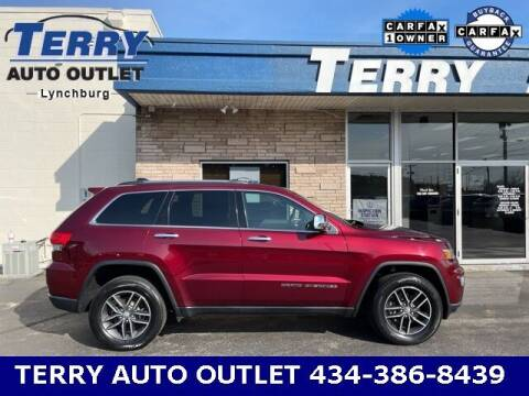 2018 Jeep Grand Cherokee for sale at Terry Auto Outlet in Lynchburg VA