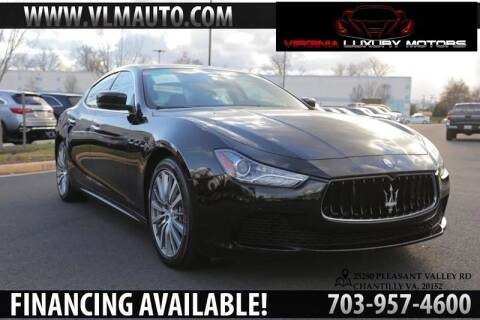 2015 Maserati Ghibli for sale at Used Imports Auto - Virginia Luxury Motors in Chantilly GA