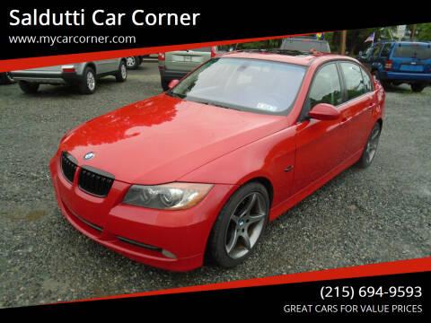 2006 BMW 3 Series for sale at Saldutti Car Corner in Gilbertsville PA
