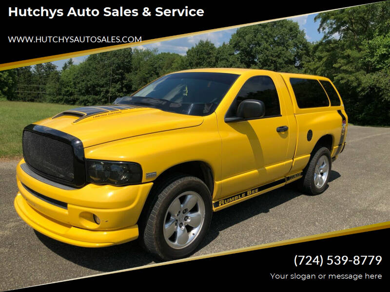 2004 Dodge Ram Pickup 1500 for sale at Hutchys Auto Sales & Service in Loyalhanna PA