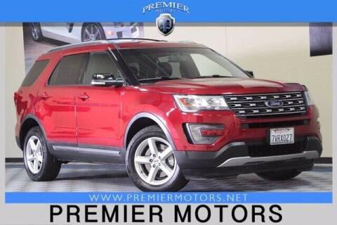 2016 Ford Explorer for sale at Premier Motors in Hayward CA