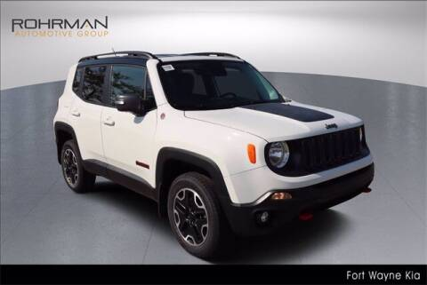 2017 Jeep Renegade for sale at BOB ROHRMAN FORT WAYNE TOYOTA in Fort Wayne IN