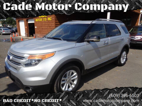 2011 Ford Explorer for sale at Cade Motor Company in Lawrenceville NJ